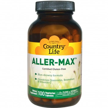 Countrylife Aller Max With Quercetin & NAC 100 Vegetarian Capsules