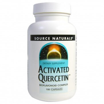 Source Naturals, Activated Quercetin, 100 Capsules