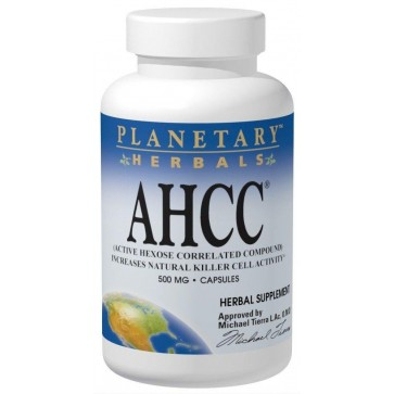 Planetary Herbals AHCC 500mg 30cp