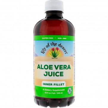 Lily of The Desert Inner Fillet Aloe Vera Juice, 32 fl oz Juice