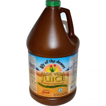 Lily Of The Dessert Aloe Vera Juice 128 oz