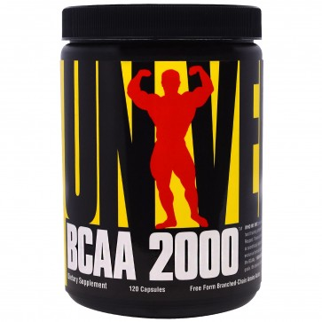 Universal Nutrition BCAA 2000 120 Capsules