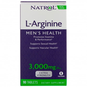 Natrol-L-Arginine 3000mg 90 tab