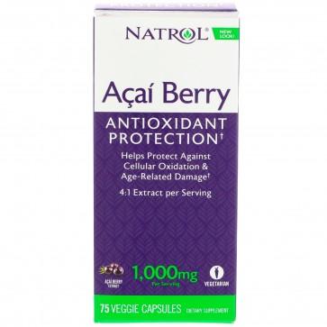 Natrol - Pure Acai Berry Capsules, 75ct