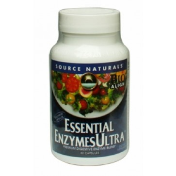 Source Naturals Essential Enzymes Ultra 60 Vegetarian Capsules