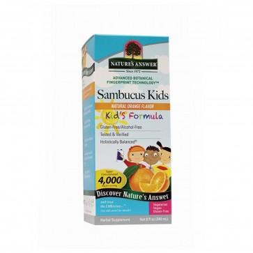 Natures Answer Sambucus Kids Orange