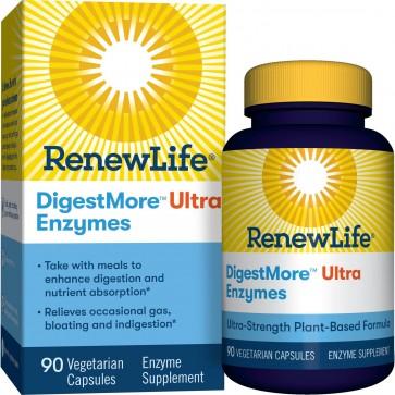 Renew Life DigestMore Ultra Enzymes 90 Vegetarian Capsules