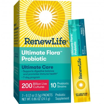 ReNew Life Ultimate Flora Super Critical 200 Billion Probiotic - 7 packets