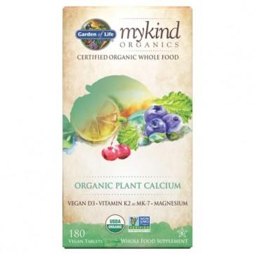 Garden of Life myKind Organics Plant Calcium 180 Vegan Tablets
