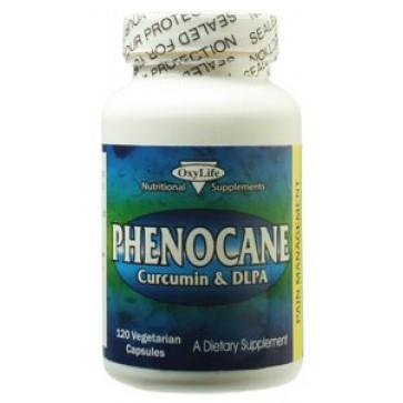 Oxylife Phenocane Curcumin & DLPA 120 Vegetarian Capsules