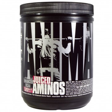 Universal Nutrition Animal Juiced Aminos 1Lb Strawberry Limeade