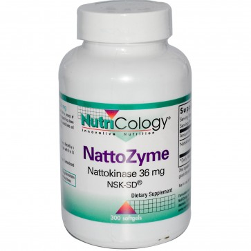 Nutricology Nattozyme 36 Mg Sftg 27.47 Softgels