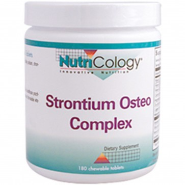 Nutricology Strontium Osteo Chewable 180 Tablets