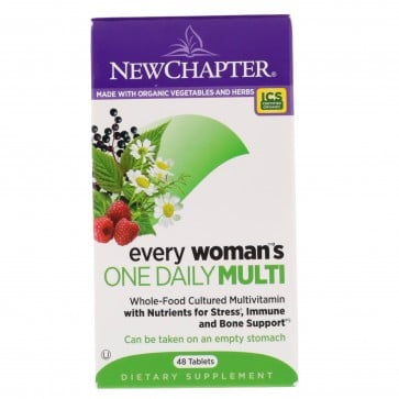 New Chapter Every Woman's One Daily Multivitamin 48 Tablets