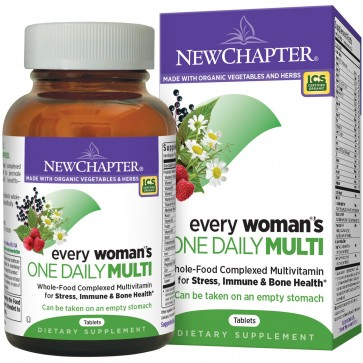 New Chapter Every Woman's One Daily Multivitamin 72 Tablets