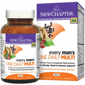 New Chapter Every Man's One Daily Multivitamin 48 Tablets