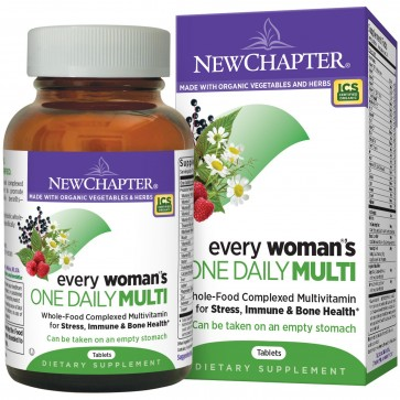 New Chapter Every Woman's One Daily Multivitamin 96 Tablets