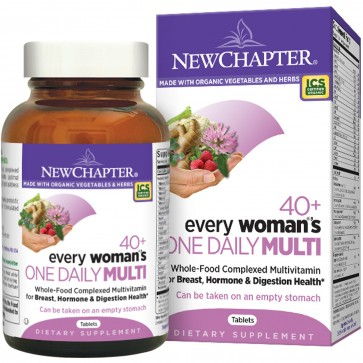 New Chapter Every Woman's One Daily 40+ Multivitamin 72 Tablets