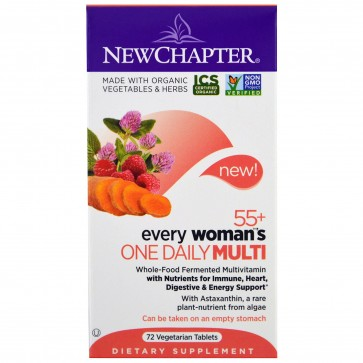 New Chapter Every Woman's One Daily 55+ Multivitamin 72 Tablets
