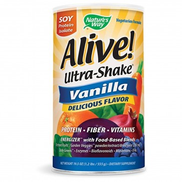 Nature's Way Alive Ultra-Shake Vanilla 1.3 lbs