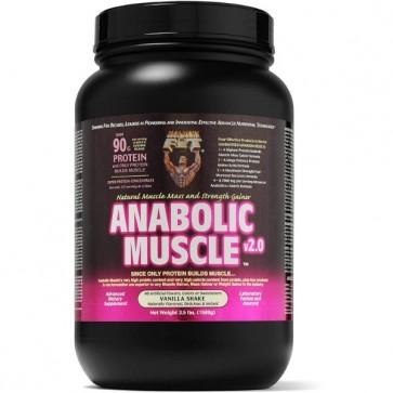 Healthy N Fit Anabolic Muscle v2.0 Vanilla Shake 3.5 lbs