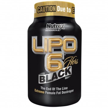 Nutrex Lipo 6 Black Hers Ultra Concentrate 120 Capsules