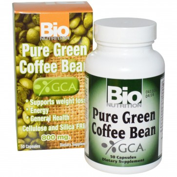Bio Nutrition-Pure Green Coffee Extract 50 caps