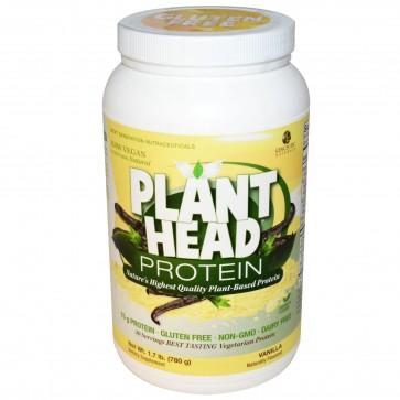 Genceutic Naturals, Plant Head Protein Vanilla 1.7 lb (780 g)