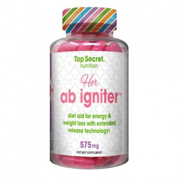 Top Secret Nutrition Her Ab Igniter 575mg 90 Capsules