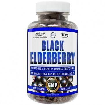 Black Elderberry 120 Tablets by Hi-Tech