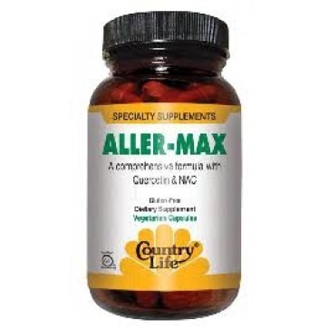 Countrylife Aller-Max With Quercetin & NAC - 50 Vegetarian Capsules