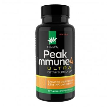 Daiwa Health Peak Immune 4 Ultra 500 mg 30 Capsules