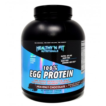 Healthy N Fit 100% Egg Protein Heavenly Chocolate 4lbs