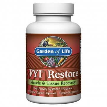 Garden of Life FYI Restore 60 Enteric Coated Capsules