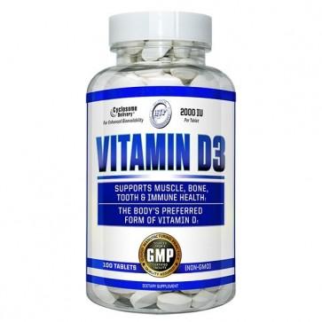 Vitamin D3 100 Tablets by Hi-Tech