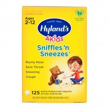 Hylands 4kids Sniffles n Sneezes 125 Dissolving Tablets
