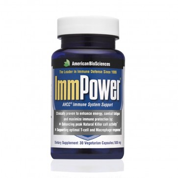 American Biosciences ImmPower AHCC 500 mg 30 cp