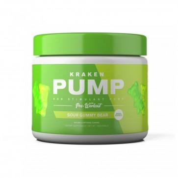 Kraken Pump Pre Workout Sour Gummy Bear