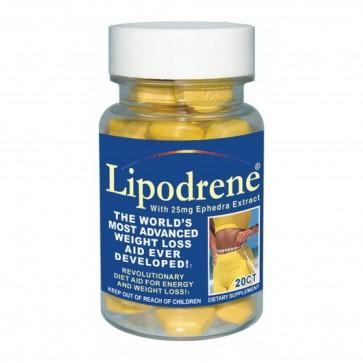 Hi-Tech Lipodrene With Ephedra Extract 20 Tablets