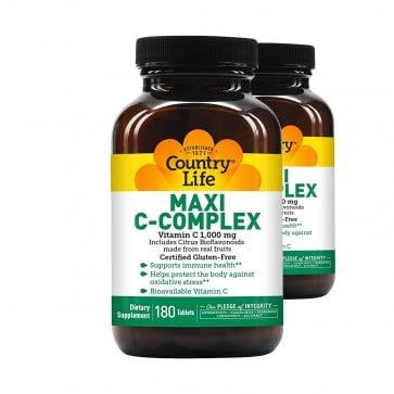Country Life Maxi C-Complex Vitamin C 1,000mg