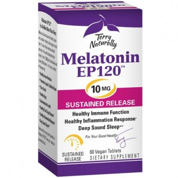 Terry Naturally Melatonin EP120 10mg 60 Vegan Capsules