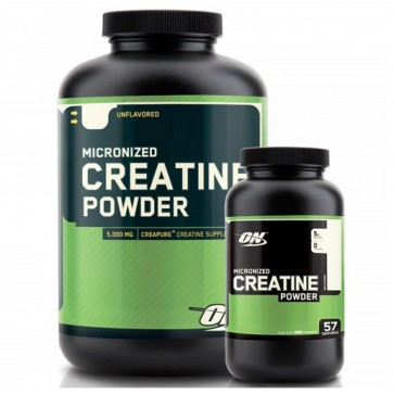 Optimum Nutrition Micronized Creatine Powder Unflavored 300 Grams 60 Servings