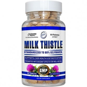 Milk Thistle 90 Tablets by Hi-Tech