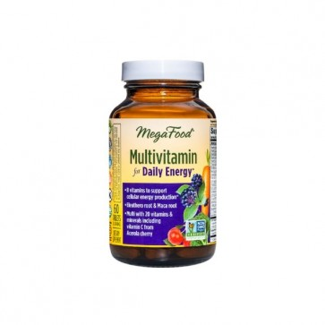 MegaFood Multivitamin for Daily Energy 60 Tablets
