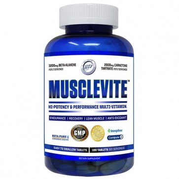 Musclevite 180 Tablets by Hi-Tech