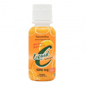 Vitamin C Liquid Orange-Travel Size Nature's Plus 8 oz Liquid
