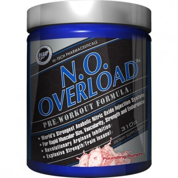 N.O. Overload Pounding Punch 310g by Hi-Tech