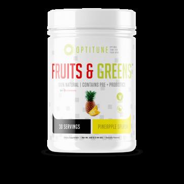 Optitune Fruits and Greens Pineapple Splash