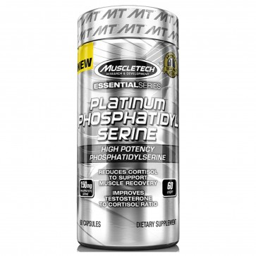 MuscleTech Platinum Phosphatidylserine 60 Capsules
