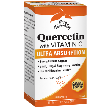 Terry Naturally Quercetin with Vitamin C 60 Capsules